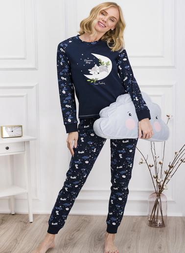 Pierre Cardin Pijama Takım Lacivert